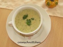 Kartoffel - Zucchini - Lauch - Süppchen - Rezept