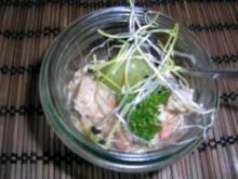 Rindfleischcocktail -Gruß aus der Küche - Geburtstagsmenü - Rezept