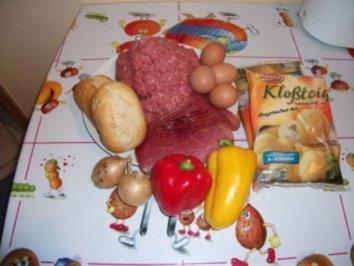 Rezept: Kartoffelhackbraten