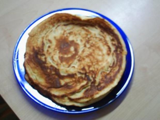 Suppeneinlagen:Frittaten / Pfannkuchen / Omelette / Palatschinken - Rezept - Bild Nr. 5