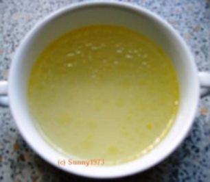 Hühnerbrühe, Hühnersuppe - Rezept