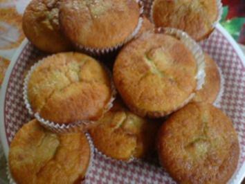 Apfelmus - Muffins - Rezept