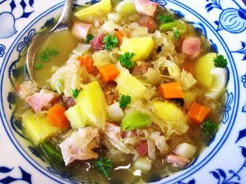 Sauerkrautsuppe - vom Eisbein ... - Rezept - Bild Nr. 4002