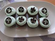 Schokoladen Mint Cupcake - Rezept