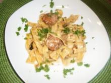 Waldpilz-Pasta - Rezept