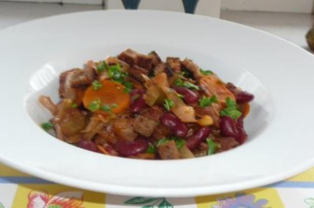 Eintopf: Bohnentopf mallorquinisch - Rezept