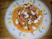 Carpaccio vom Muskatkürbis - Rezept