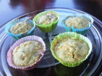 Kürbis - Muffins - Rezept