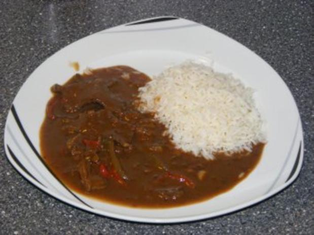 Rindfleisch mit Chili (sehr scharf) - Rezept - Bild Nr. 2