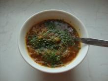 Feurige Krautsuppe - Rezept
