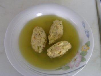 Brez´n - Nockerl Suppe - Rezept
