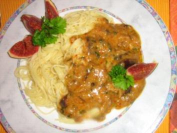 Rezept: Scharfe Feigen-Gorgonzola Pasta