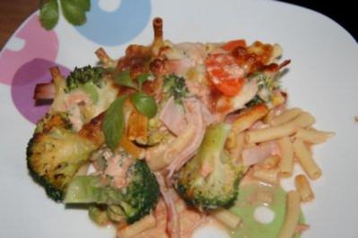 Nudeln: Makkaroni - Broccoli - Auflauf - Rezept