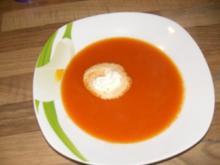 Paprika-Tomatensüppchen - Rezept