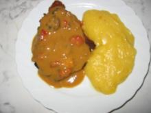 Kartoffel-Kürbis-Püree - Rezept