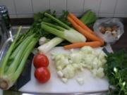 Unsere Gemüsebrühe - Rezept