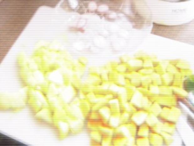 Exotische Kürbissuppe mit Schafskäse - Rezept - Bild Nr. 3