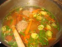 Suppe: Meine Leberknödelsuppe... - Rezept
