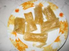 Süßer Kürbis im Mantel - Rezept