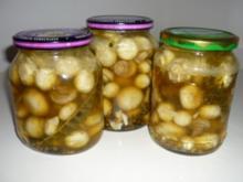 marinierte Champignons mit Thymian - Rezept