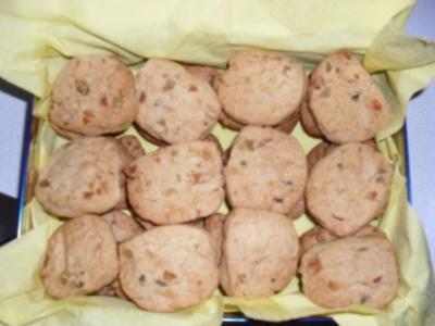 Orangen-Ingwer-Kekse - Rezept