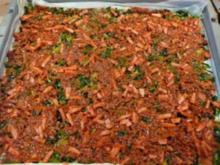 TARTE/PIZZA:Porree-Hackfleisch-Käse - Rezept