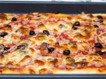 American Pizza  Teig(dick und luftig) - Rezept - Bild Nr. 2