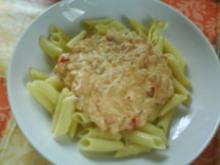 Frischkäsesoße mit feiner Tomatennote - Rezept
