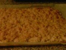 Apfel-Streuselkuchen vom Blech - Rezept
