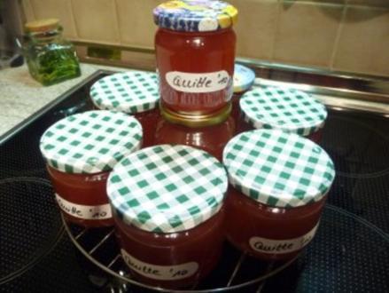Marmelade : Quittengelee - Rezept
