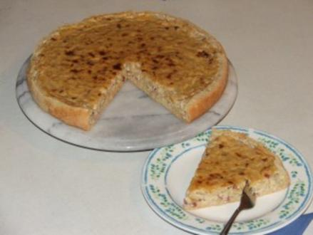 Einfacher Zwiebelkuchen... - Rezept
