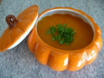 Suppen & Eintöpfe : ...und noch ´ne Kürbissuppe - Rezept