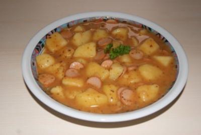 Kartoffelgulasch - meine Kinder liebens - Rezept