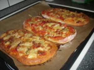 Pizza-Zungen - Rezept