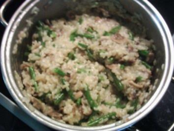 Reisgerichte:Champignon-Risotto - Rezept