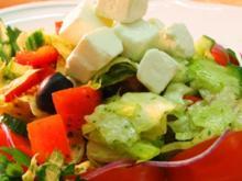 Salat mit Pfiff - Rezept