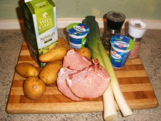 Kassler-Porree- Kartoffel-Pfanne - Rezept - Bild Nr. 2