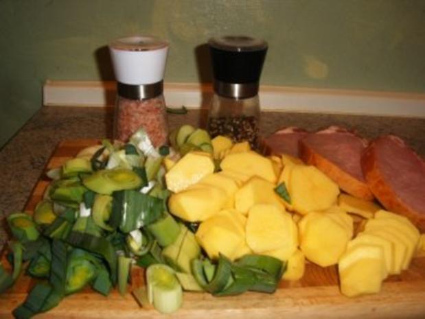 Kassler-Porree- Kartoffel-Pfanne - Rezept - Bild Nr. 3