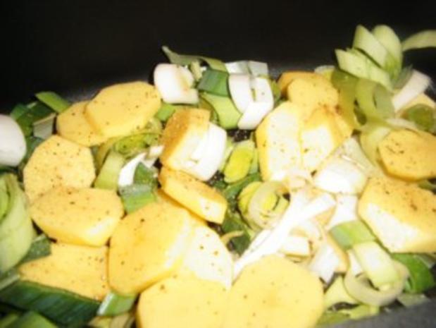 Kassler-Porree- Kartoffel-Pfanne - Rezept - Bild Nr. 4