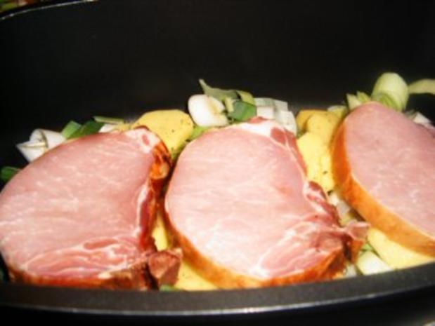 Kassler-Porree- Kartoffel-Pfanne - Rezept - Bild Nr. 5