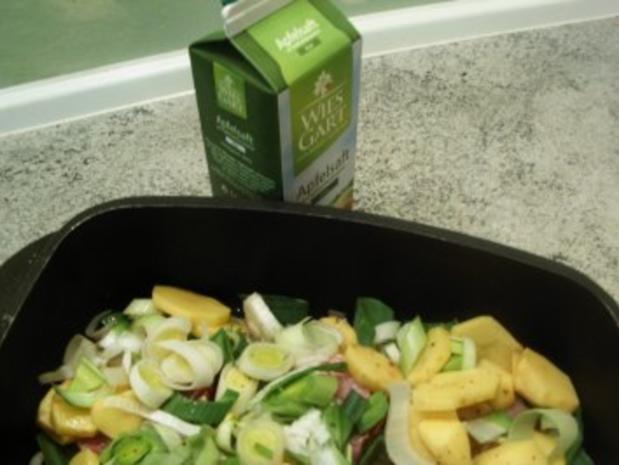 Kassler-Porree- Kartoffel-Pfanne - Rezept - Bild Nr. 8