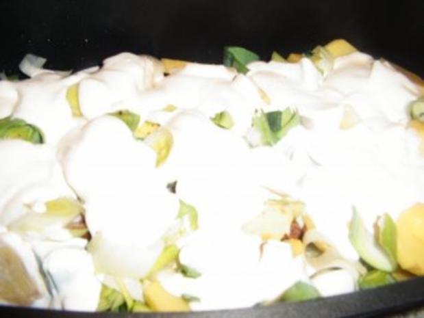 Kassler-Porree- Kartoffel-Pfanne - Rezept - Bild Nr. 9