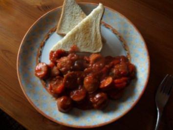 Salsa Currywurst - höllisch scharf - Rezept