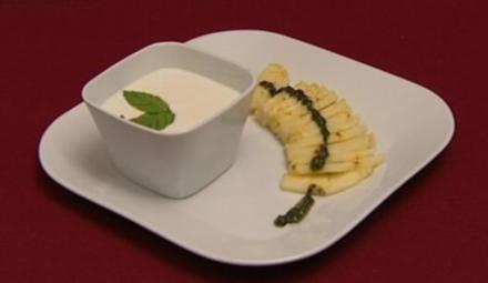 Süße Ananas mit Minzzucker (Kristina Bach) - Rezept