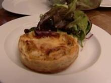 Mürbeteigkuchen mit Artischocken-Tomatenfüllung (Sebastian Rohrbach) - Rezept