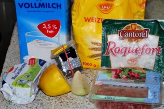 Spinat-Ricotta-Cannelloni in tomatisierter Roquefort-Bechamélsoße - Rezept - Bild Nr. 4