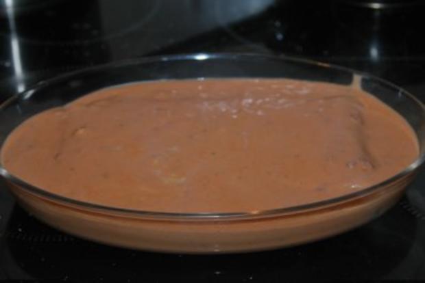 Spinat-Ricotta-Cannelloni in tomatisierter Roquefort-Bechamélsoße - Rezept - Bild Nr. 10