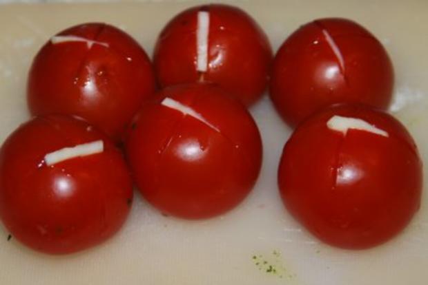 Spinat-Ricotta-Cannelloni in tomatisierter Roquefort-Bechamélsoße - Rezept - Bild Nr. 11