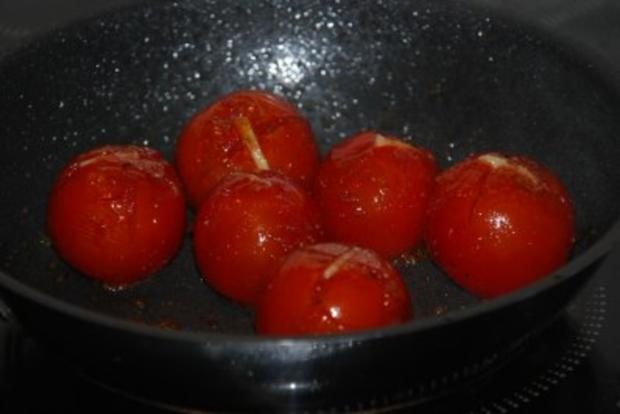 Spinat-Ricotta-Cannelloni in tomatisierter Roquefort-Bechamélsoße - Rezept - Bild Nr. 14