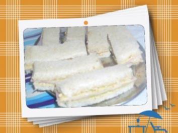 Sandwichfinger mit Honig-Senf - Rezept